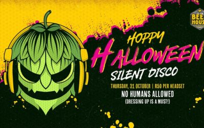 Park all brooms at the door for a spooky 'Halloween Silent Disco'
