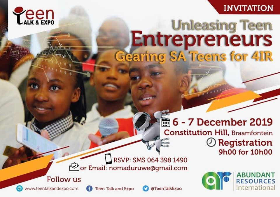 Uprise.Africa catches them young at TEEN TALK& EXPO